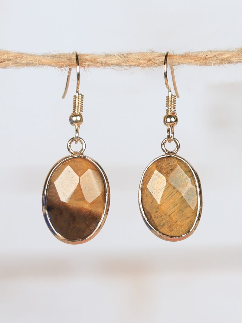 Earrings :: Grace & Emma :: Belle\'s Simple Gold Earrings with ...